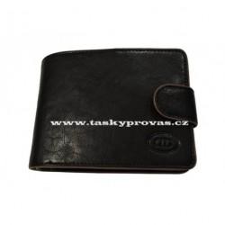 Kožená peněženka DD 043-01 černá