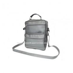 Kožená taška pánská S-1 šedá