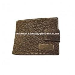 Pánská kožená peněženka Lagen V-97/W hnědá