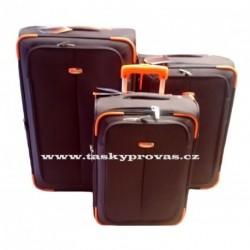 Cestovní kufry Madisson 3 ks sada 57804 hnědá