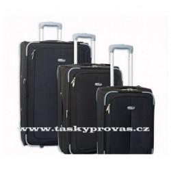 Cestovní kufry Madisson 3 ks sada 57804 černá