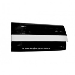 Kabelka společenská SendiDesign R-001/2 černá/bílá