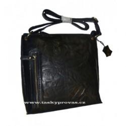 Kožená crossbody taška Lagen LN/3287 černá