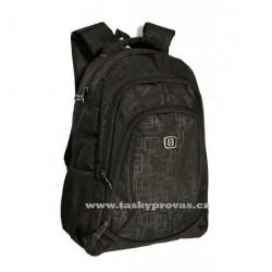 Batoh s kapsou na notebook Enrico Benetti 62023 černá