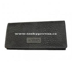 Dámská kožená peněženka Lagen W-2024/W černá