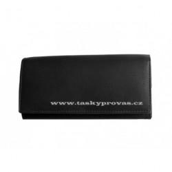 Kožená peněženka dámská King WFY 408 černá