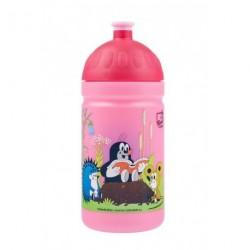 Zdravá lahev Nová generace 0,5 l Krteček s kalhotkami barva: růžová