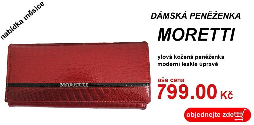 peněženka Moretti