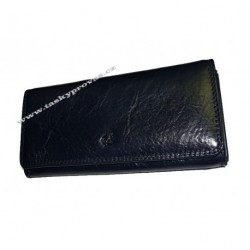 Dámská kožená luxusní peněženka Cosset 4467 Komodo blue