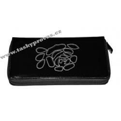 Dámská kožená peněženka DD A300.01 černá