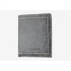 Pánská kožená peněženka Lagen 9277 šedá