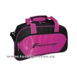 Sportovní taška Freeway Fit 314066 černá/růžová