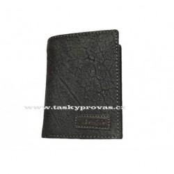 Pánská kožená peněženka Lagen LM-8315/W černá