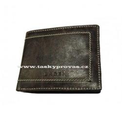 Pánská kožená peněženka Lagen PW-524 hnědá