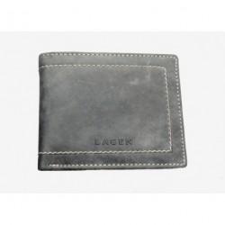 Pánská kožená peněženka Lagen PW-524 šedá