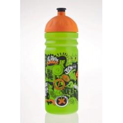 Zdravá lahev  0,7 l Street art zelená/oranž.