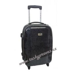 Cestovní kufr Airtex 910 70 černá/šedá