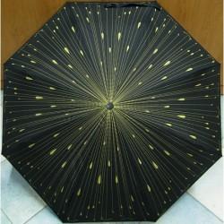 Deštník skládací Bargués 4013 déšť/ zlatý