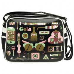 Gola retro taška PUB005 černá