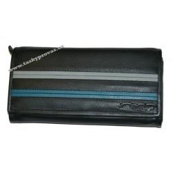Peněženka kožená ENRICO BENETTI LB-32 černá
