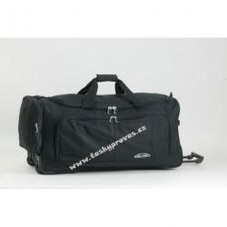 ENRICO BENETTI 35305 cestovní taška na kolečkáchčerná
