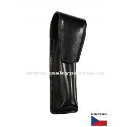 Kožené pouzdro na tužky Hajn 115021.3 černé