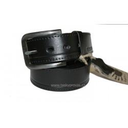 Kožený pásek Black 093-98 černý