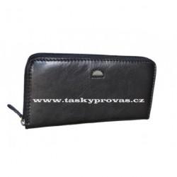 Dámská kožená luxusní peněženka Cosset 4492 Classic černá
