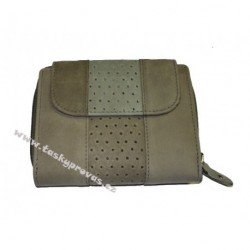 Dámská kožená peněženka DD WIL 2094-05 šedá