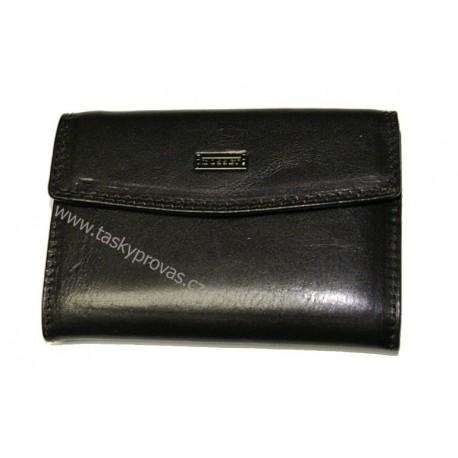 Peněženka dámská kožená Cosset 4417 Flamengo černá