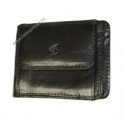 Kožená peněženka dolarka Cosset Komodo 4496 černá