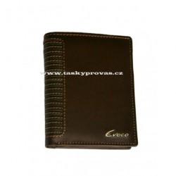 Pánská kožená peněženka Evoco 572.665.205 hnědá