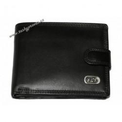 Pánská kožená peněženka DD Wil 2254 černá