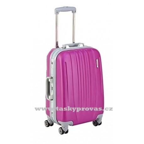 Cestovní kufr Silvercase 275 50 ABS - fialová