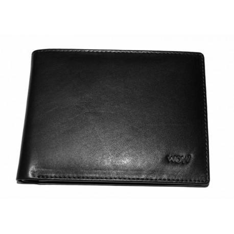 Kožená peněženka King WOW 365 černá