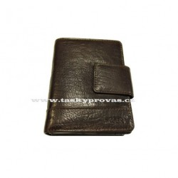 Dámská kožená peněženka Lagen 2077/T tm.hnědá