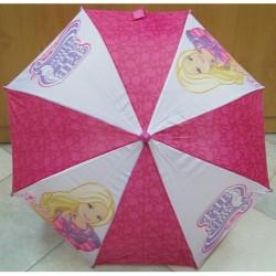Deštník hůlkový Barbie A4529