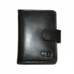 Kožené pouzdro na vizitky nebo kreditní karty DD SPL 97-01 černé