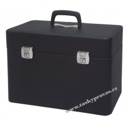 DUP 230802-027 kadeřnický kufr černý