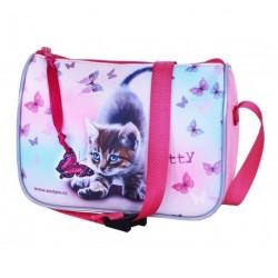 Dětská/dívčí kabelka Emipo Kitty růžová