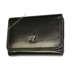 Peněženka dámská kožená Cosset 4458 Komodo černá