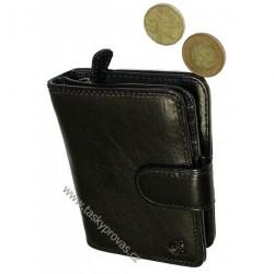 Peněženka dámská kožená Cosset 4494 Komodo černá