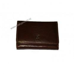 Peněženka dámská kožená Cosset 4499 Komodo hnědá