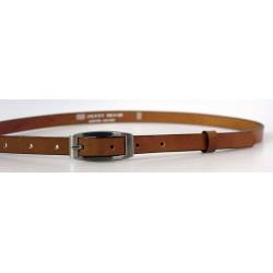Dětský kožený pásek Penny Belts 15-2-42-D hnědý sv.