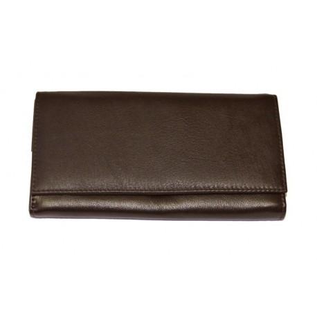 Dámská kožená peněženka Talacko 2560 tm.hnědá