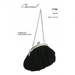 Kabelka společenská Charmel 1734 černá