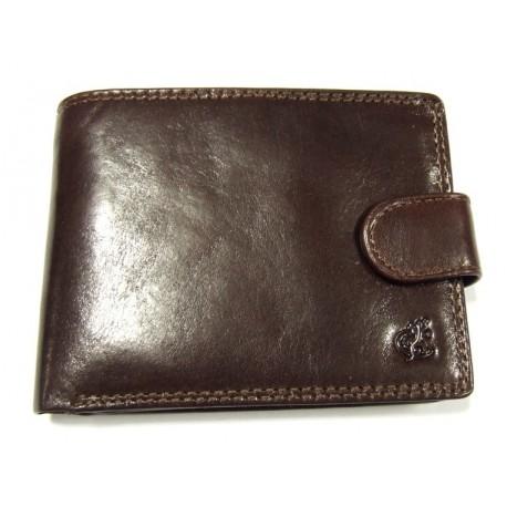 Peněženka pánská kožená Cosset 4413 Komodo hnědá