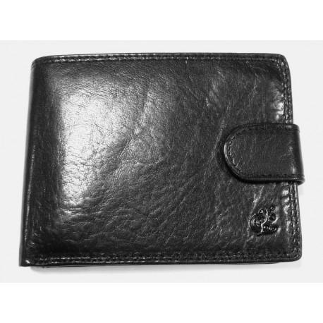 Peněženka pánská kožená Cosset 4413 Komodo černá