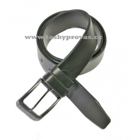 Opasek kožený Penny Belts 02-HL-60K černý