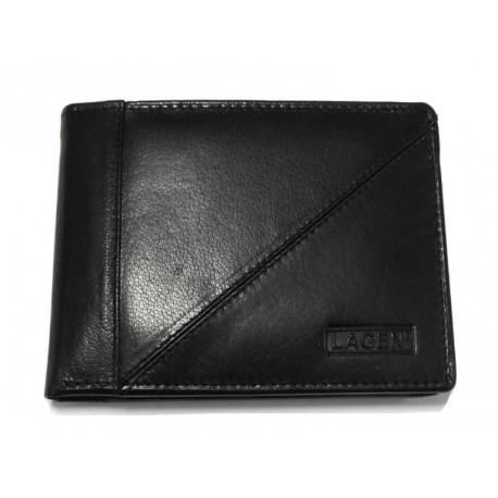 Pánská kožená peněženka Lagen 7175 černá